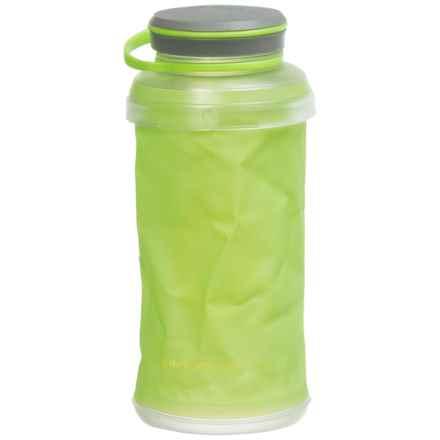 Hydrapak Stash 1L Water Bottle in Green - Closeouts