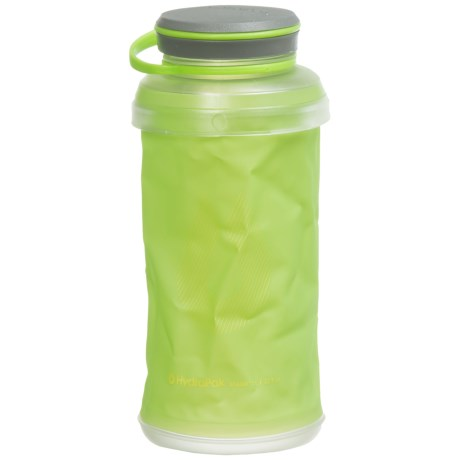 Hydrapak Stash 1L Water Bottle in Green
