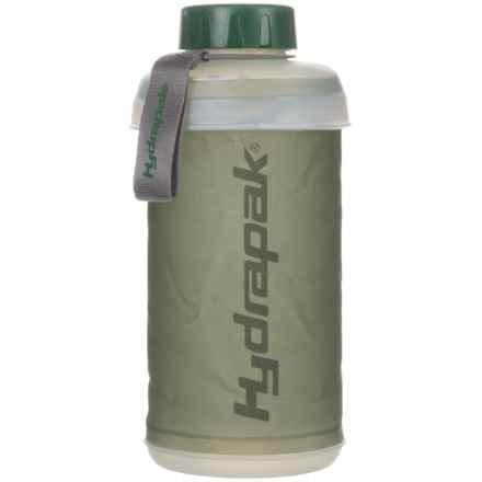 Hydrapak Stash Water Bottle - BPA-Free, 750ml in Green - Closeouts