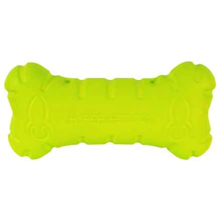 Hyper Pet Hyper Chewz Bone Dog Toy in Green - Closeouts