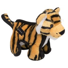 Hyper Pet Tough Plush Dog Toy in Tiger - Closeouts