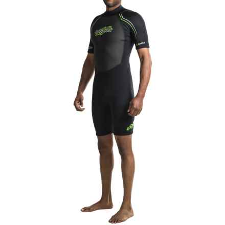 Hyperflex AXS Spring Suit - 2.5mm, Short Sleeve (For Men) in Black - Closeouts