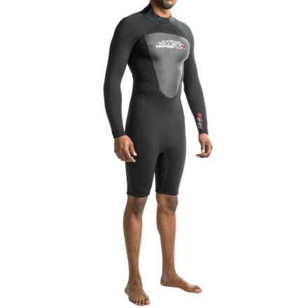 Hyperflex Cyclone2 2.5mm Spring Suit - Long Sleeve (For Men) in Black - Closeouts