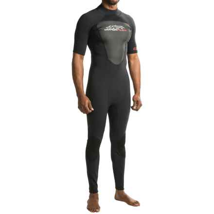 Hyperflex Cyclone2 2mm Full Wetsuit - Short Sleeve (For Men) in Black - Closeouts
