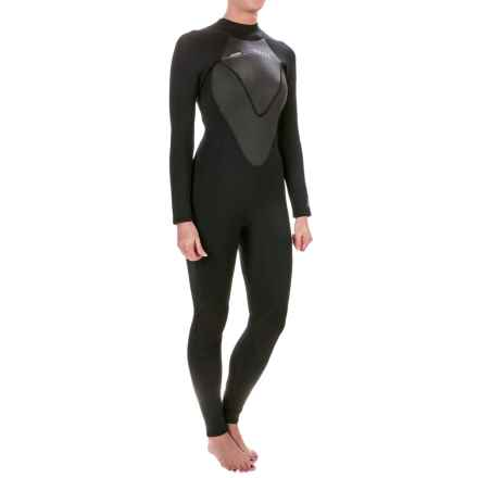 Hyperflex Cyclone2 Flatlock Full Wetsuit - 3/2mm, Long Sleeve (For Women) in Black - Closeouts