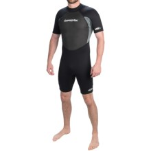 Hyperflex Pipeline Spring Suit - 2mm (For Men) in Black/Grey - Closeouts