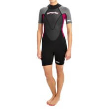Hyperflex Pipeline Spring Suit - 2mm (For Women) in Black/Berry/Grey - Closeouts