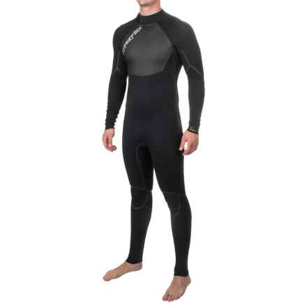 Hyperflex Voodoo Back-Zip Full Wetsuit - 3/2mm, Long Sleeve (For Men) in Black - Closeouts