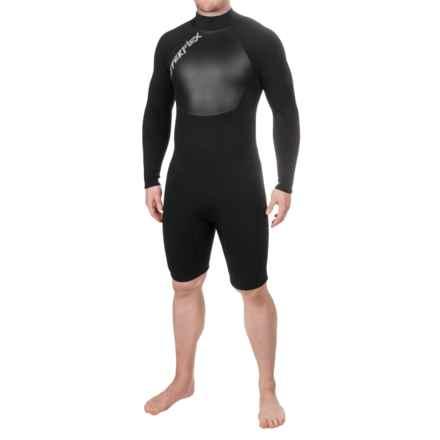 Hyperflex Voodoo Sleeve Spring Wetsuit - 2.5mm, Long Sleeve (For Men) in Black - Closeouts