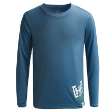 Hyperflex Wetsuits Water T-Shirt - UPF 50+, Long Sleeve (For Kids) in Block - Closeouts