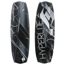 Hyperlite Forefront Wakeboard - Focus Bindings in 139 Graphic - Closeouts