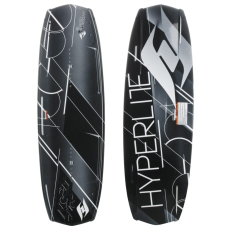 Hyperlite Forefront Wakeboard - Focus Bindings in 139 Graphic