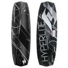 Hyperlite Forefront Wakeboard - Focus Bindings in 144 Graphic - Closeouts