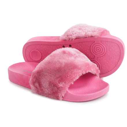 I Love Yokids Rio Sandals (For Little and Big Girls) in Fuschia - Closeouts