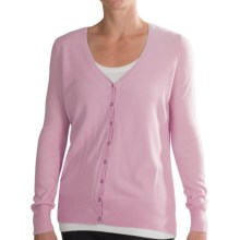iB Diffusion Cardigan Sweater - V-Neck (For Women) in Light Pink - Closeouts