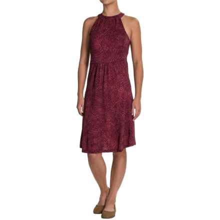 Ibex Ava Dress - Merino Wool, Sleeveless (For Women) in Astral/Dahlia - Closeouts
