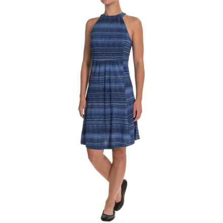 Ibex Ava Dress - Merino Wool, Sleeveless (For Women) in Tribal/Lazuli - Closeouts
