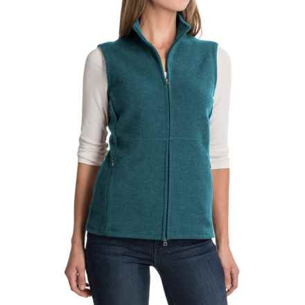 Ibex Carrie Vest - Merino Wool (For Women) in Dragonfly Heather - Closeouts