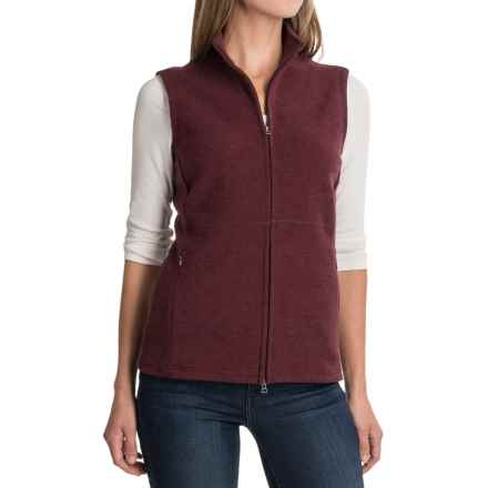 Ibex Carrie Vest - Merino Wool (For Women) in Redwood Heather - Closeouts