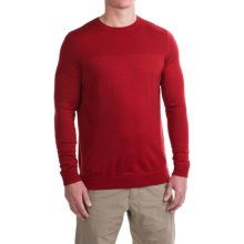 Ibex Carver Sweater - Merino Wool (For Men) in Rooster Heather - Closeouts