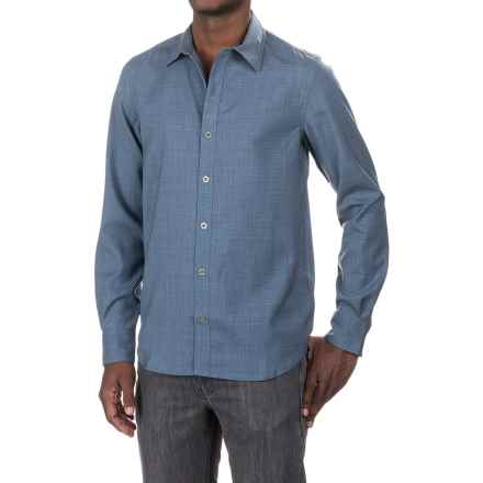 Ibex Champlain Shirt - Long Sleeve (For Men) in Chambray Heather - Closeouts