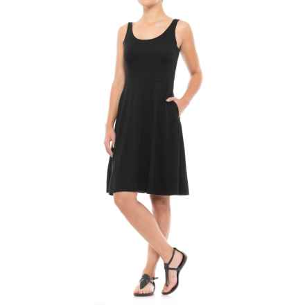 Ibex Costa Azul Dress - Merino Wool, Sleeveless (For Women) in Black - Closeouts