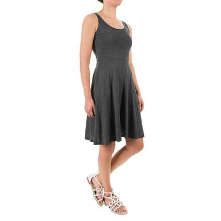 Ibex Costa Azul Dress - Merino Wool, Sleeveless (For Women) in Pewter Heather - Closeouts