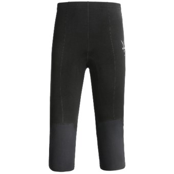 Ibex El Fito Three-Quarter Cycling Knickers - Merino Wool (For Men) in Black