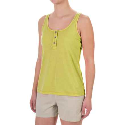 Ibex Hailey Tank Top - Merino Wool, Racerback (For Women) in Finch - Closeouts