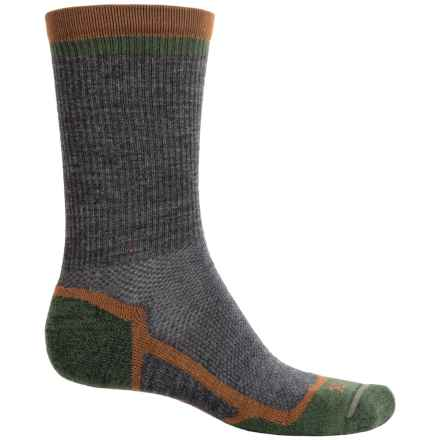Ibex Hiker Socks - Merino Wool, Crew (For Men and Women) in Charcoal Heather - Closeouts