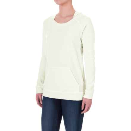 Ibex Hooded Waffle-Knit Shirt - Merino Wool, Long Sleeve (For Women) in Birch - Closeouts