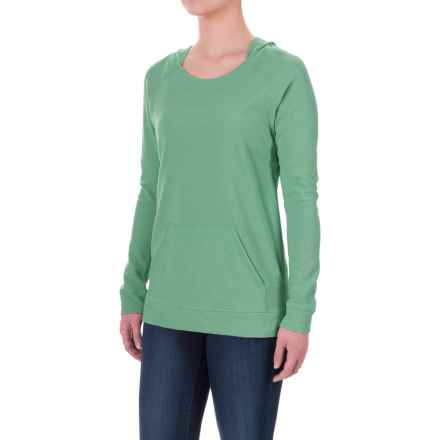 Ibex Hooded Waffle-Knit Shirt - Merino Wool, Long Sleeve (For Women) in Meadow - Closeouts