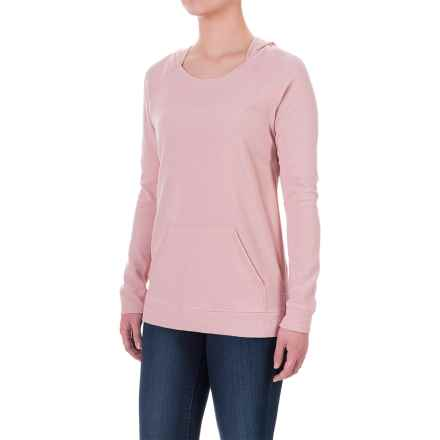 Ibex Hooded Waffle-Knit Shirt - Merino Wool, Long Sleeve (For Women) in Soapstone - Closeouts