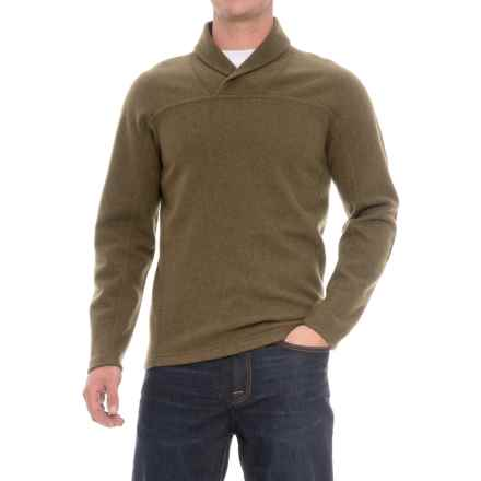 Ibex Hunters Point Pullover Sweater - Merino Wool (For Men) in Acorn Heather - Closeouts