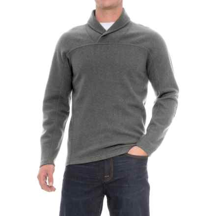 Ibex Hunters Point Sweater - Merino Wool (For Men) in Vintage Stone Heather - Closeouts