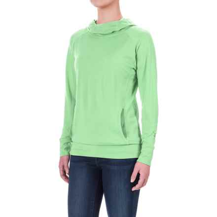 Ibex Indie Hera Hoodie - Merino Wool (For Women) in Patina - Closeouts