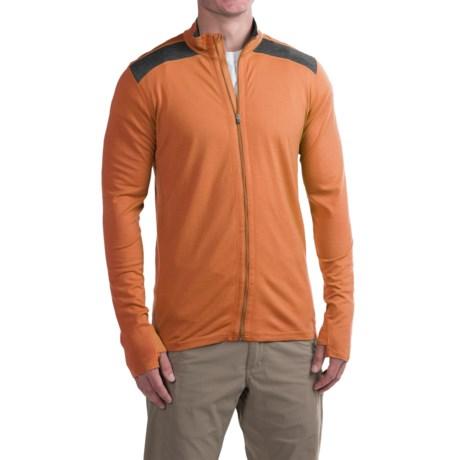 Ibex Indie Jacket - Merino Wool (For Men) in Adobe