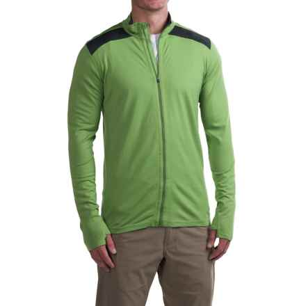 Ibex Indie Jacket - Merino Wool (For Men) in Gecko - Closeouts