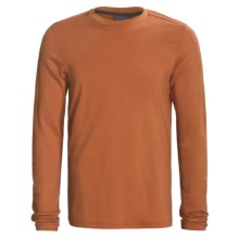 Ibex Indie Outback Shirt - Merino Wool, Midweight, Long Sleeve (For Men) in Orange - Closeouts