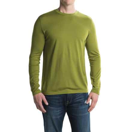 Ibex Indie Shirt - Merino Wool, Long Sleeve (For Men) in Peat Moss - Closeouts