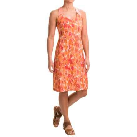 Ibex Isabella Dress - Merino Wool, Built-In Shelf Bra, Sleeveless (For Women) in Brushes/Daybreak - Closeouts