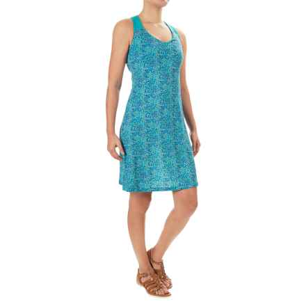 Ibex Isabella Dress - Merino Wool, Built-In Shelf Bra, Sleeveless (For Women) in River / Waterfall - Closeouts