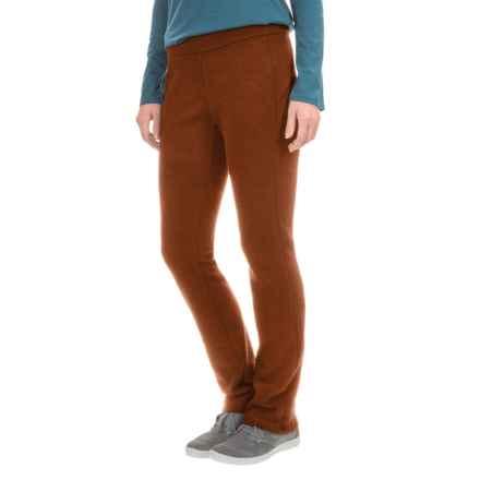 Ibex Izzi Tavern Knit Pants - Merino Wool (For Women) in Cider - Closeouts