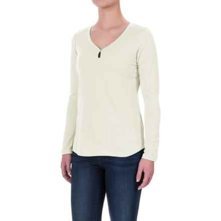 Ibex Jersey Seventeen.5 Felicia Shirt - Merino Wool, Long Sleeve (For Women) in Birch - Closeouts