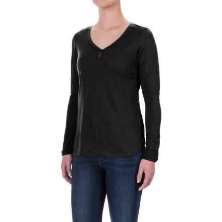 Ibex Jersey Seventeen.5 Felicia Shirt - Merino Wool, Long Sleeve (For Women) in Black - Closeouts