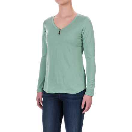Ibex Jersey Seventeen.5 Felicia Shirt - Merino Wool, Long Sleeve (For Women) in Meadow - Closeouts