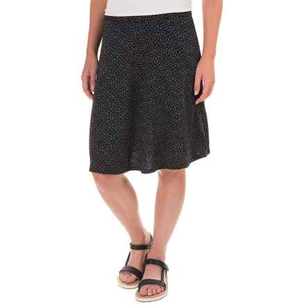 Ibex Juliet Toula Skirt - Merino Wool (For Women) in Celtic/Black - Closeouts