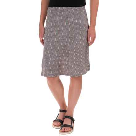 Ibex Juliet Toula Skirt - Merino Wool (For Women) in Dashing/Stone Grey Heather - Closeouts