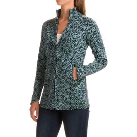 Ibex Juliet Tunic Shirt - Merino Wool, Long Sleeve (For Women) in Celtic/Midnight - Closeouts