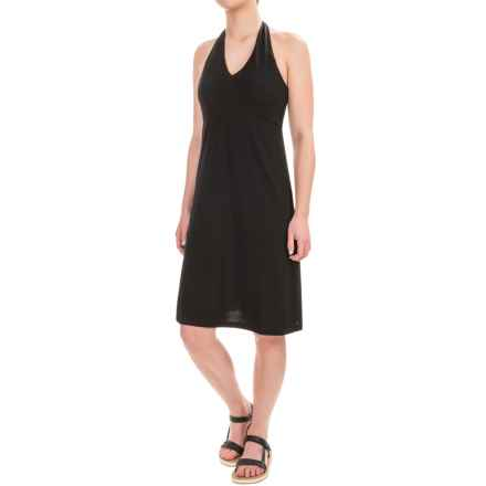 Ibex Kira Dress - Merino Wool, Sleeveless (For Women) in Black - Closeouts